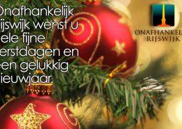 Gelukkig kerstfeest - Onafhankelijk Rijswijk
