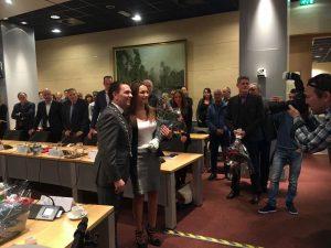 Romy de Man geinstalleerd als raadslid van de Rijswijkse gemeenteraad - Onafhankelijk Rijswijk